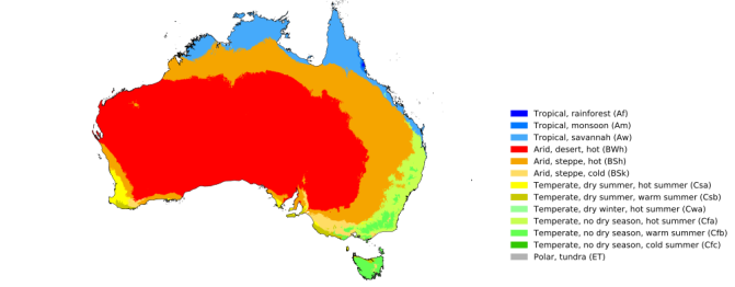 Australia Map Km.New Global 1 Km Resolution Koppen Geiger Climate Classification Maps