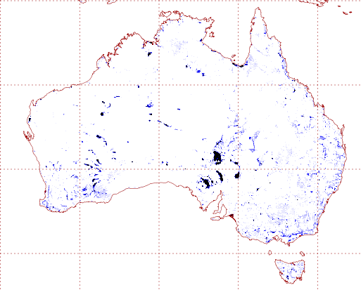 Secondary evaporation sources in Australia. (Source: Van Dijk et al., 2018)